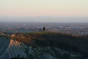 azienda agricola GAVIGNANO - dalla collina vista sui colli di Verona